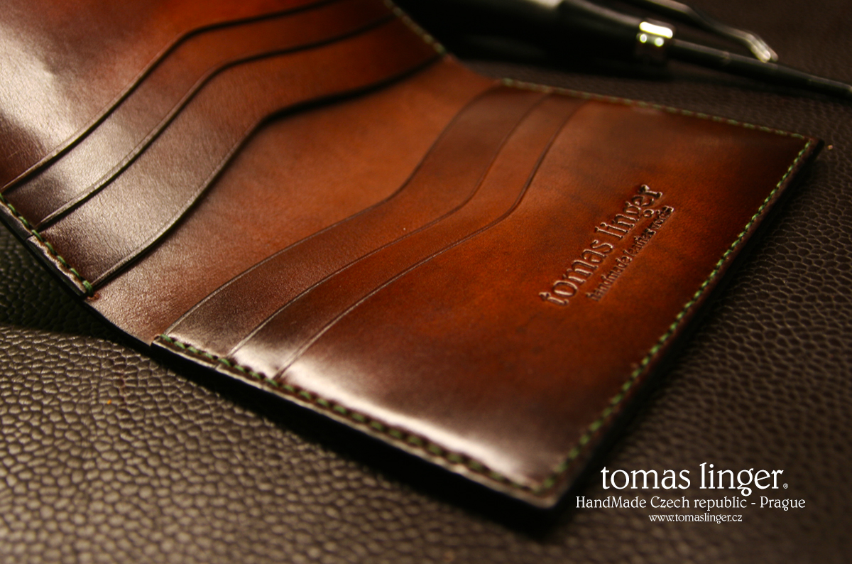 leather wallet handmade tomas linger
