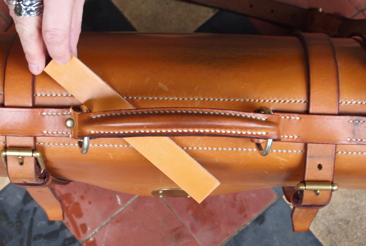 Bridle leather london tan